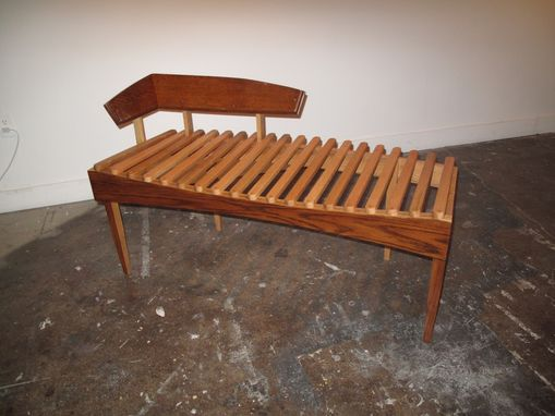 Custom Made Organ Bench