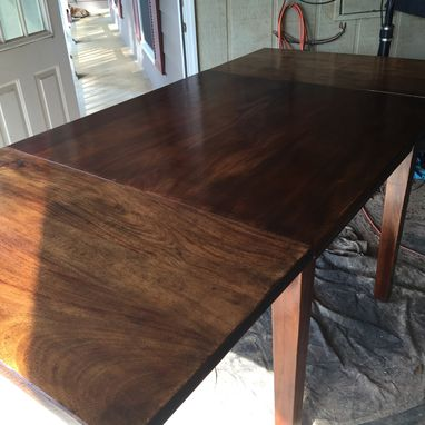 Custom Made Mahogany Pub Table