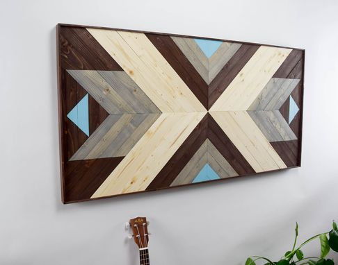 Custom Made Noord Wood Artwork