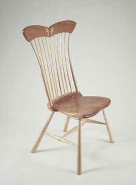 Custom Made Butterfly Sidechair