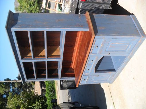 Custom Made Reclaimed Wood Hutch Custom Made In The Usa From Reclaimed Wood