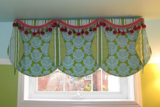 Custom Made Valance For Child's Bathroom