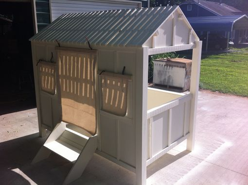 Custom Made Kids Beach House Bed