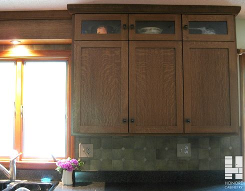 Custom Made Custom Cabinetry : Quartersawn White Oak Kitchen