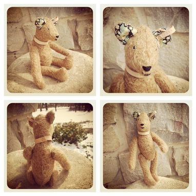 Custom Made Jointed Mohair Bears And Animals