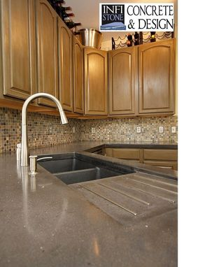 Custom Made Concrete Countertops