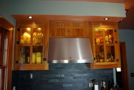 Custom Made Gumwood Upper Cabinets