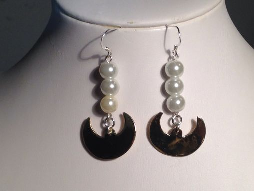 Custom Made Moon Earrings
