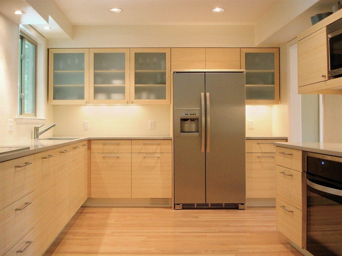 Custom Made Bamboo Kitchen by Hefner Woodworking Sorkin Design – Bamboo Kitchen