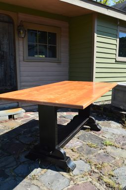 Custom Made Handcrafted Farmhouse Table (Call For Pricing)