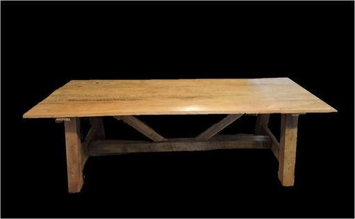 Custom Made Farm Table, Reclaimed Lumber- Hand Made