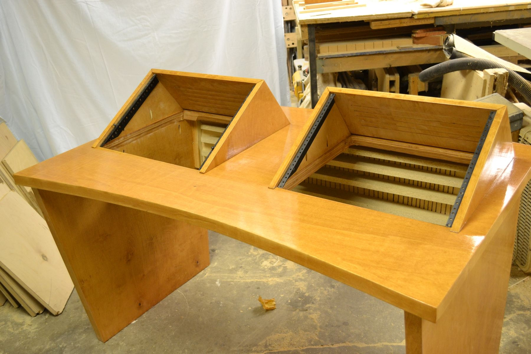 Buy A Hand Crafted Recording Studio Desk Made To Order