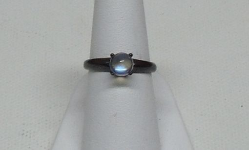 Custom Made Sterling Silver Oxidized Ring