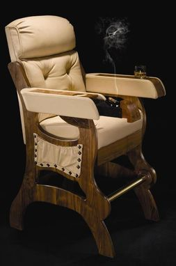 Custom Made Cigar Chair