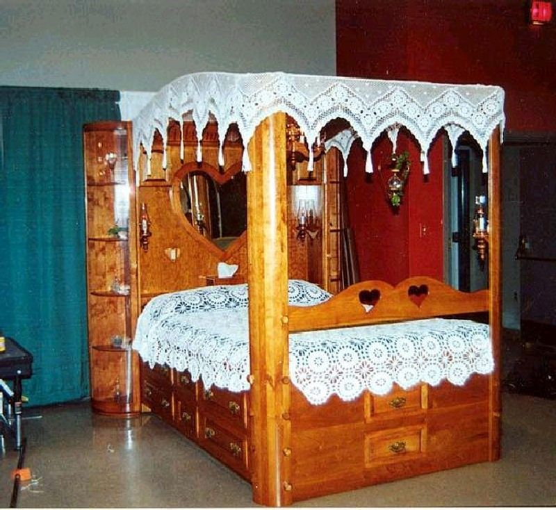 Custom Cherry Canopy Platform Bed By Larue Woodworking Custommade Com