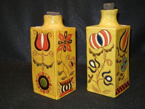 Custom Made Square Bottles