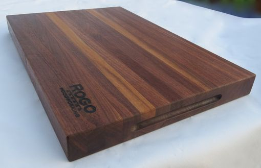 Custom Made Black Walnut Cutting Board