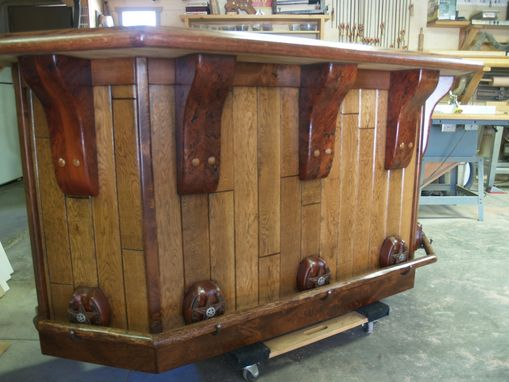 Custom Made Rustic Western Bar
