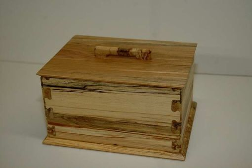 Custom Made Spalted Maple Box