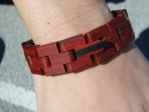 Custom Made Wooden Chain Bracelets