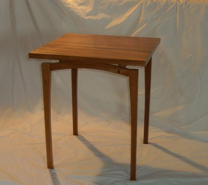 Custom Made Mahogany Side Table