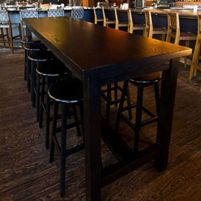 Hand Crafted Communal Dining Table By Infusion Furniture - Outdoor communal table