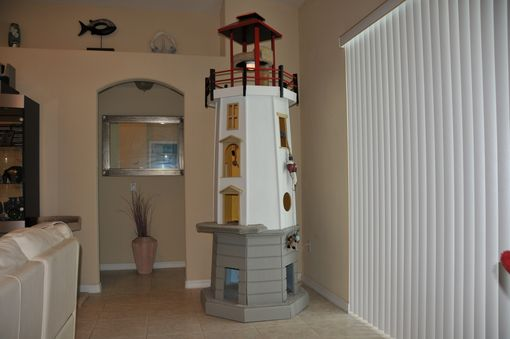 Custom Made Lighthouse Cat Tower