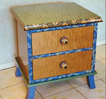 Custom Made Rumba Ii End Table