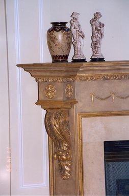 Custom Made Fireplace Surround with Custom Finishes