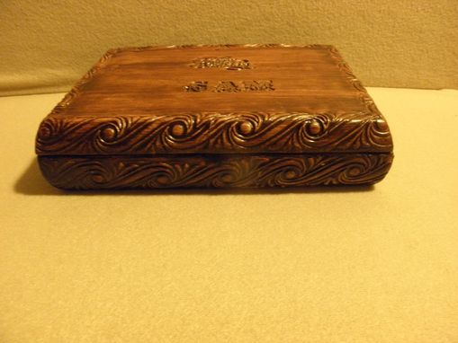 Custom Made Memories Box ,Jewelry Box ,Handmade,Handpainted ,Customed By Name And Occasion.