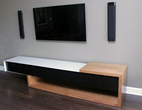 Custom Made Entertainment Console Cabinet