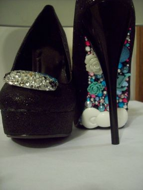 Custom Made Hello Kittens Collection (Hello Kitty Pumps-Blue)