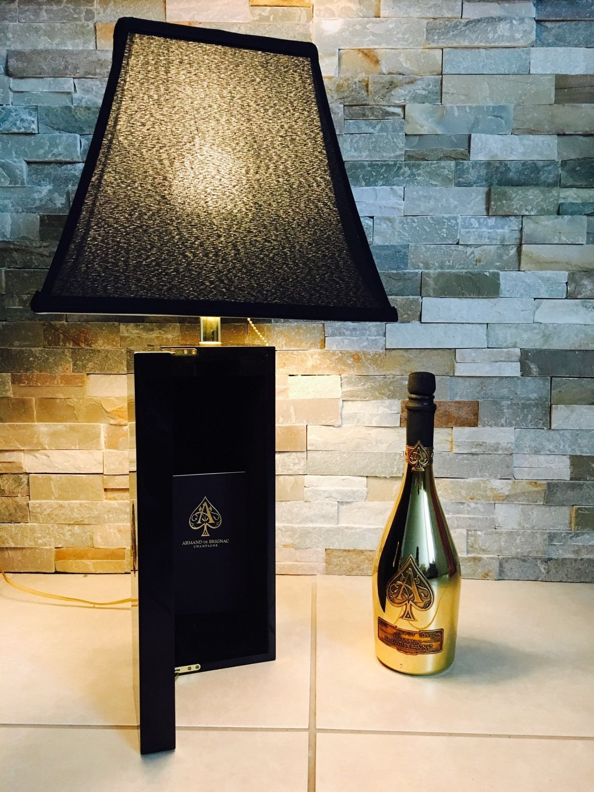 Buy a custom ace of spades champagne lampbottle and book included custom made ace of spades champagne lampbottle and book included reviewsmspy