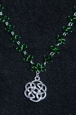 Custom Made Handmade Celtic Wire Clovers