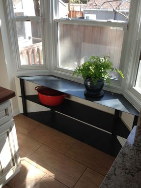 Custom Made Bay Window Storage Unit