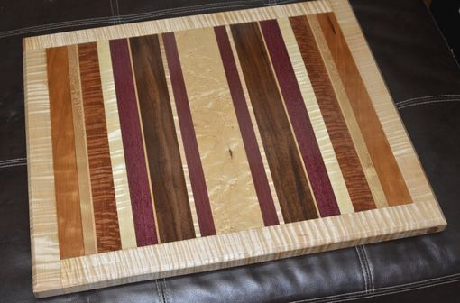 Custom Made Cutting Board Exotic Wood - Handmade