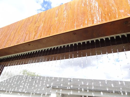 Custom Made Rain Curtain Water Feature