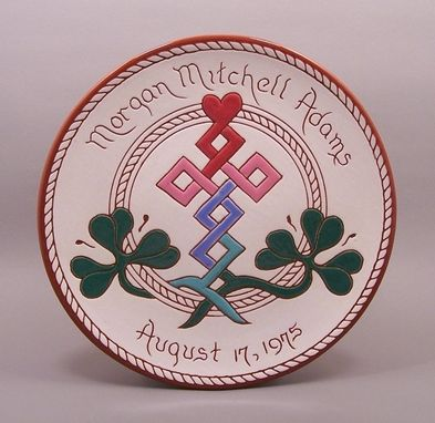 Custom Made #17-Personalized Irish Birth Plate