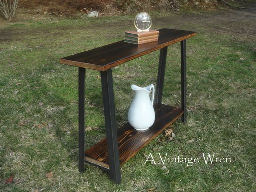 Custom Made Industrial Console/ Hall Table/ Sofa Table