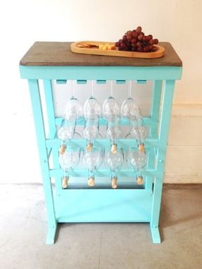 Custom Made Wine Rack Table