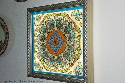 Custom Made A Decorative Artwork Paisley