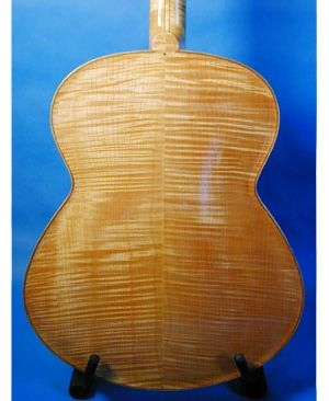 "Custom Made ""Art Gecko"" Archtop Guitar"