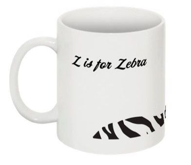 Custom Made Jesus Zebra Wraparound Mug