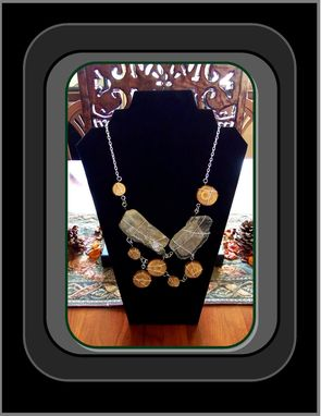 "Custom Made Most Popular,Natural Stone & Tree Branch Slices,Statement Jewlery, ""One Of A Kind"" Artisan Jewelry"