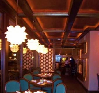 Custom Made Lighted Coffered Ceiling
