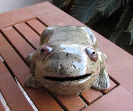 Custom Made Sculpted Ceramic Animals - Toads