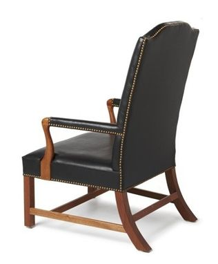Custom Made Benjamin Franklin's Library Chair