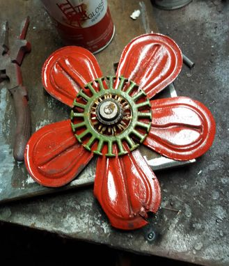 Custom Made Wall Art Metal Flowers