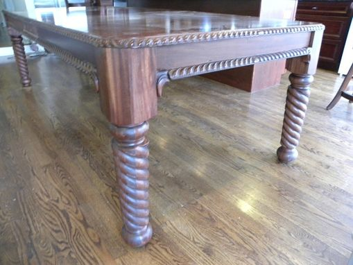 Custom Made Dining Table Legs