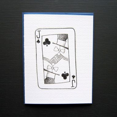 Custom Made Pack Of Cards Stationery Set